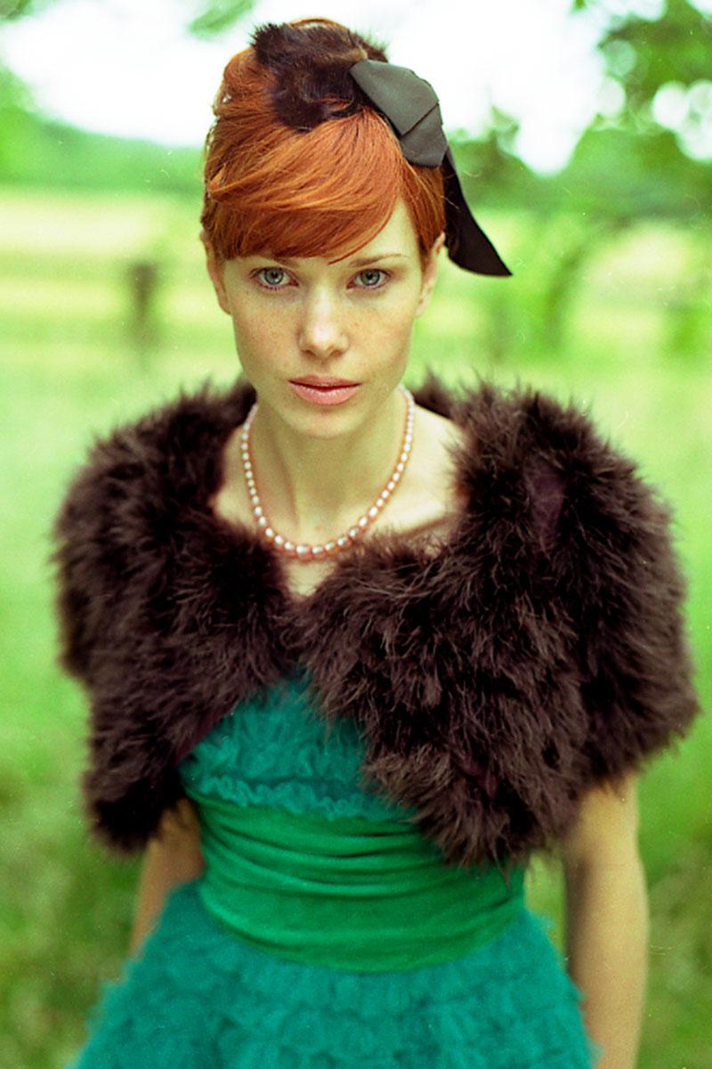 Rebecca photographed by Ian Lea