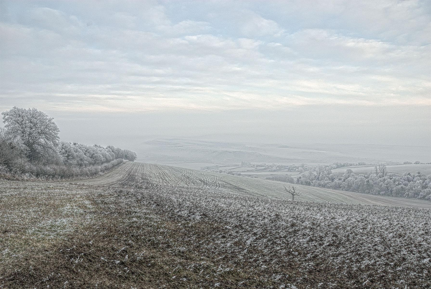 Winter Snow near Arundel
