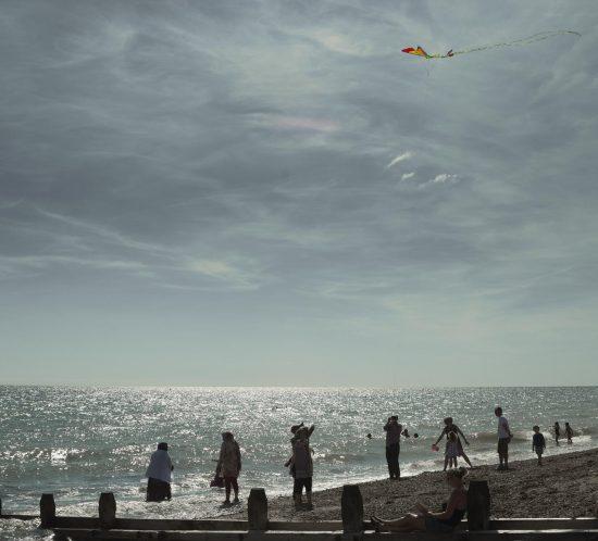 Worthing Beach Kite Flying