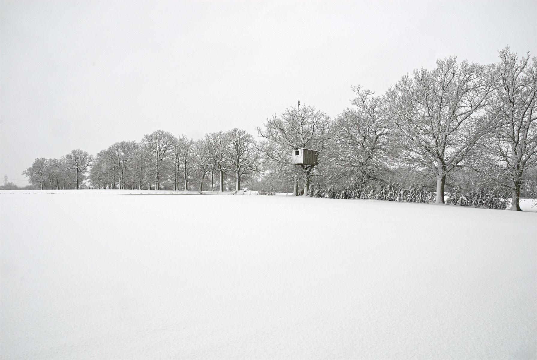 West Chiltington Snow